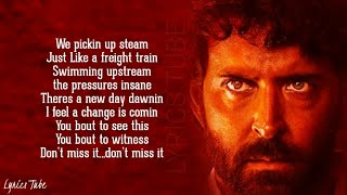 Unstoppable Now - Super 30 | Hrithik Roshan | We are unstoppable now | Lyrics