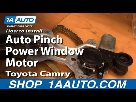 How To Install Replace Reset Auto Pinch Power Window Motor Toyota Camry 1AAuto.com