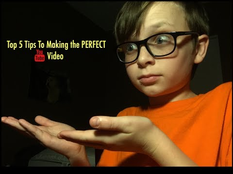 5 Tips To Making The PERFECT  YouTube Video! | Nathan Lehn | How To YouTube
