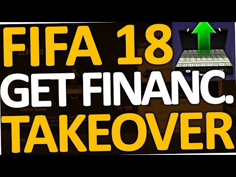 FIFA 18 - How to get financial Takeover (again in Career Mode)