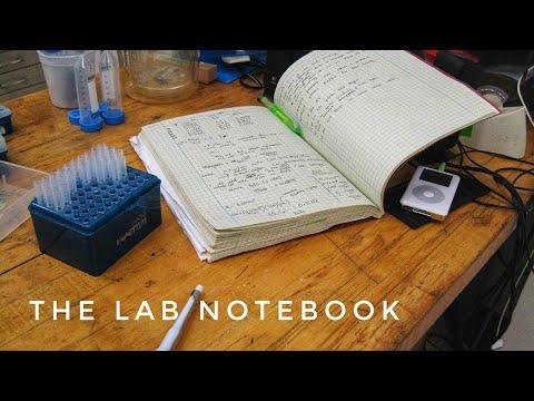 Scientific Lab Notebook