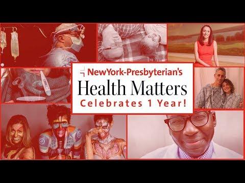 NYP's Health Matters celebrates 1 year!