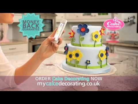 Learn how to create beautiful cakes - Cake Decorating