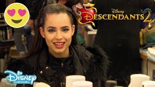 Descendants 2 | Get Ready with Sofia Carson | Official Disney Channel UK