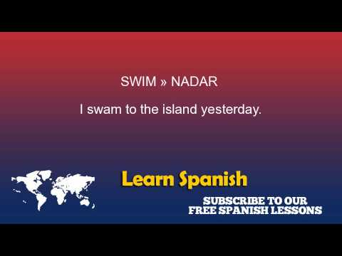 Swim in Spanish