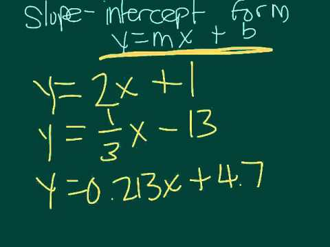 What are Linear and Nonlinear Equations?