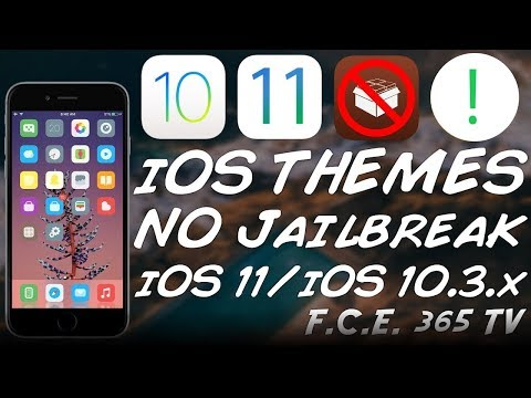 iOS 10.3.3/iOS 10.3.2/11 INSTALL THEMES WITHOUT JAILBREAK (BEST iOS THEMING PLATFORM)