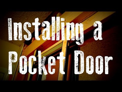 Installing a Pocket Door Remodel Guide: without Removing the Drywall...