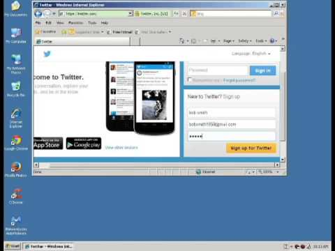 How to create a new Twitter account