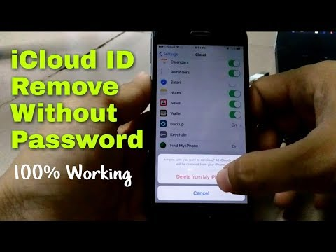 HOW TO DELETE ICLOUD ACCOUNT FROM ANY IPHONE WITHOUT PASSWORD 2017