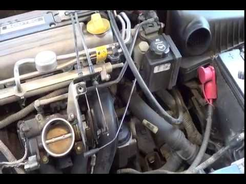 2002 Pontiac Grand Am 2 2L Ecotec Throttle Body Cleaning