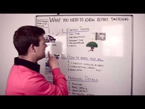 What you need to know before switching your energy supplier online - S01E05 @myutilitygenius
