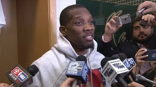 Eric Bledsoe Postgame Interview / Bucks vs Celtics Game 3