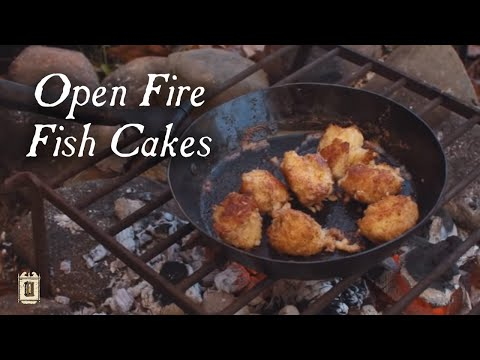 Making Tasty Fish Cakes - 18th Century Cooking Series  S1E10