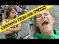 WHY ARE THE GIRLS GROUNDED? HALLOWEEN COSTUME SHOPPING!