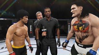 Bruce Lee vs. Titan Calibus - EA Sports UFC 2 - Dragon Fights 🐉