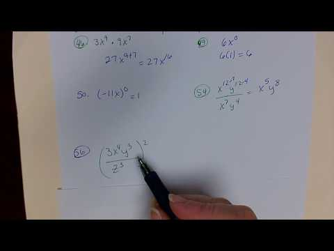 Positive Exponents and Scientific Notation