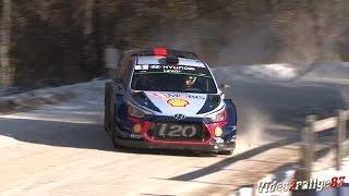 WRC 85ème Rallye Monte-Carlo 2017 , On The Limit, High Speed, Snow