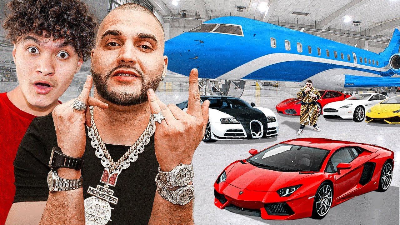 Billionaire Kid Vs Billionaire Rapper (Flex Off)