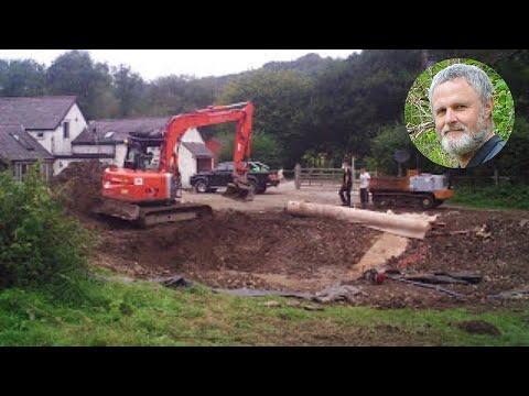 Pond build timelapse