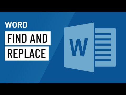 Word 2016: Using Find and Replace