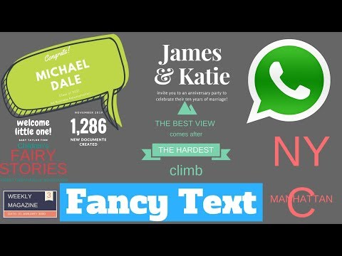 How to Write Stylish | Text Chat On Whatsapp |  Whatsapp Text Style Trick & Tips
