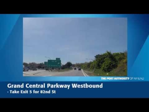 LGA Lot P10 Westbound Directions