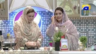 Geo Ramzan Iftar Transmission - Shish Kebab and Makhani Rice Recipe by Naheed Ansari - Ehsaas Ramzan