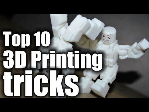 Top 10 3D Printing Tricks HD