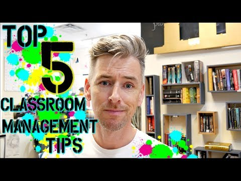 5 Tips on Classroom Management | High School Teacher Vlog
