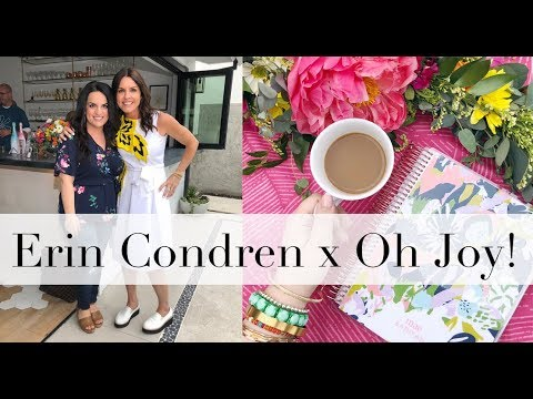 Erin Condren x Oh Joy! Life Planner Launch Party!