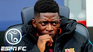 Odd man out at Barcelona appears to be Ousmane Dembele | ESPN FC