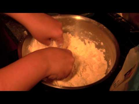 Cutting Butter By Hand