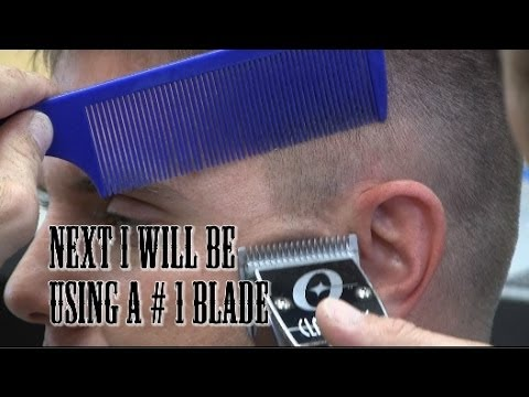 How To cut a High and Tight / short tapered mens haircut / Taper fade faster tutorial