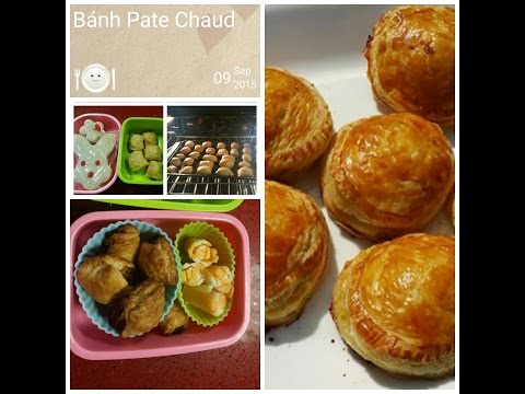 Cach Lam Banh Pate Chaud