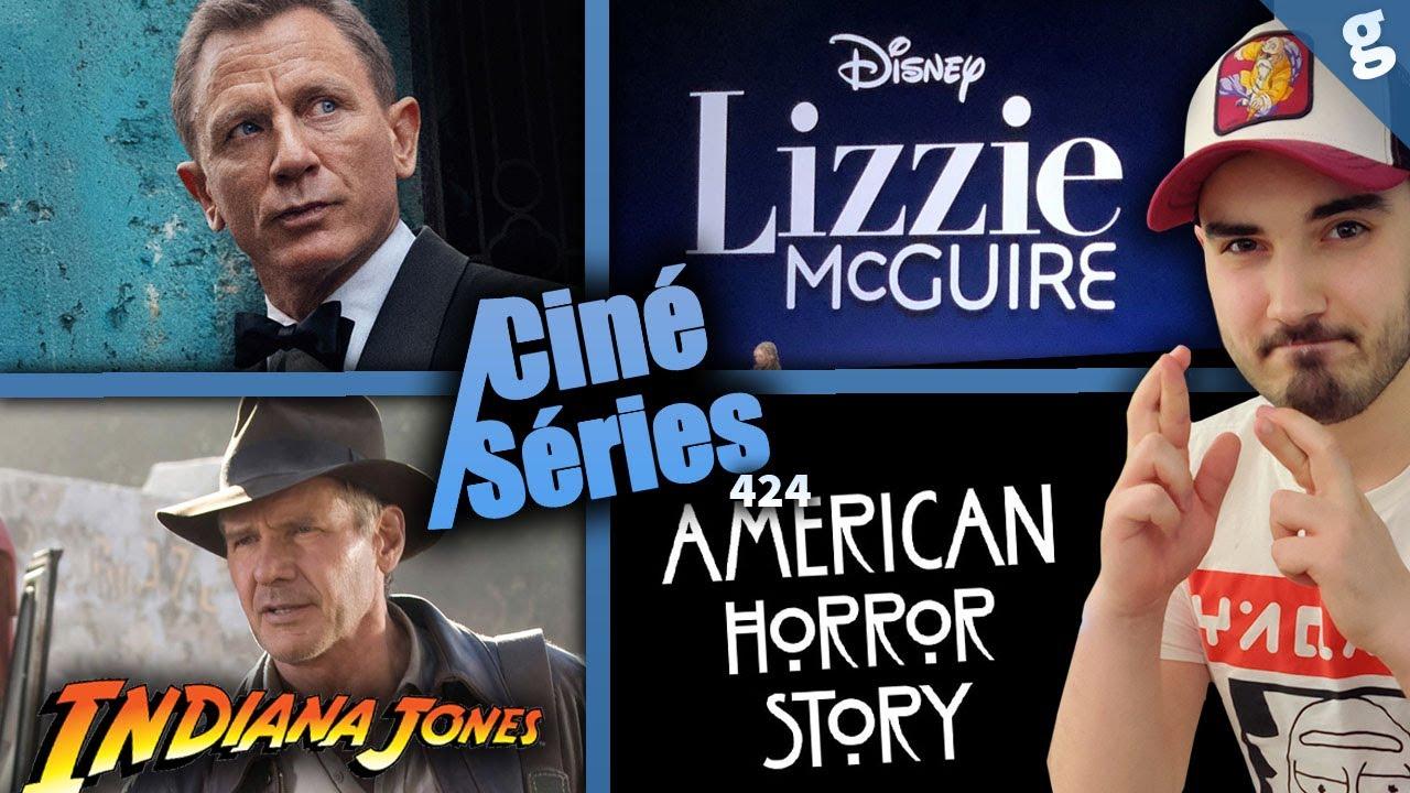 Steven Spielberg quitte Indiana Jones 5, Durée James Bond 25, Raison retard série Disney+ Lizzie