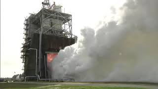 RS- 25 Engine Gets Powered to 113 Percent Thrust