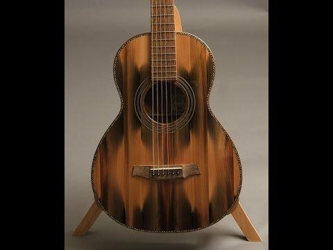 Guitar Galler presents Fylde Single Malt Whiskey Guitar