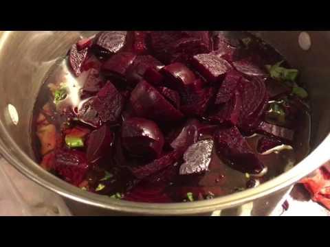 Borscht - My mom's Recipie for Polish Beet Soup