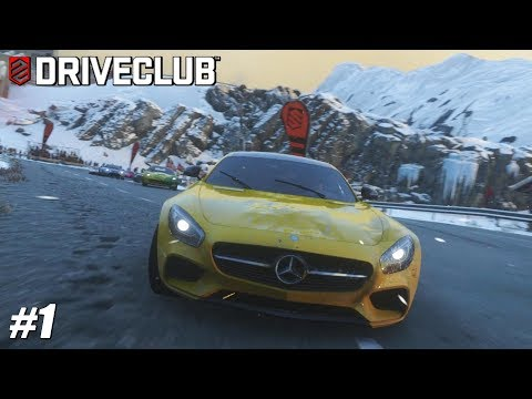DriveClub - PS4 Pro Gameplay Playthrough - Mercedes-AMG GT S + Replay PART 1