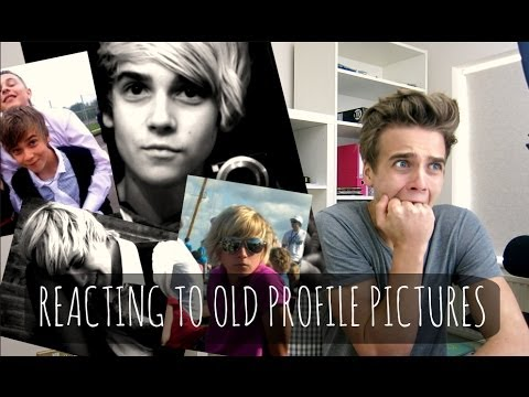 Reacting To Old Profile Pictures | ThatcherJoe