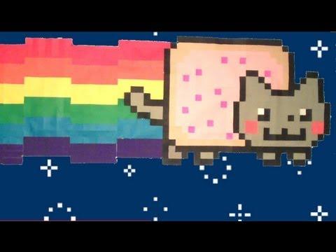 *** Paper Pixel: ORIGAMI NYAN CAT!!! ***