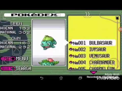 Pokemon Emerald navel rock cheat code