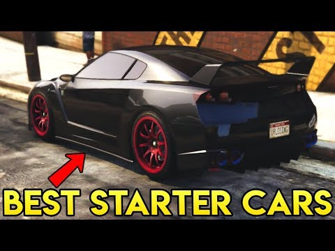Top 5 BEST Cars to Start Out With in GTA Online (Updated 2018)