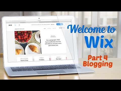 Welcome to WIX Part IV: Blogging with WIX
