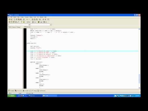 C++ Database Tutorial [HD]