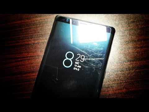 I scratched my Note 8 display pretty bad!