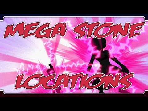 Pokemon X and Y: Where To Find All The Mega Stones!