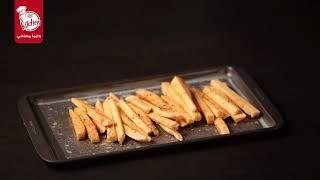 البطاطا الحلوة مع صوص المايونيز