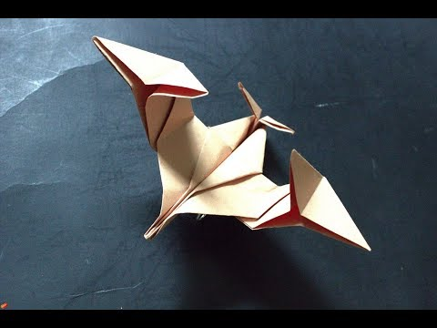 How to make an alien paper pairplane
